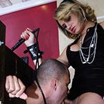 Agatha lyra 38 marcus. Tranny dominatrix takes control of her man
