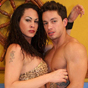 Rabeche 38 claudio. Brazilian tranny Rabeche needs to be in control during sex. She needs a submissive guy like Claudio to let her penetrate his virgin ass.