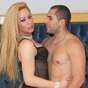 Raquel 38 rafa. Raquel Rodrigues is a blonde bombshell who loves to have her cruel tool blowed. Her partner Rafa really knows how to blow the she-milk outta her!